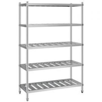 201 Stainless Steel optional 304ss restaurant commercial Storage Rack With Thickness 1.2mm Shelving