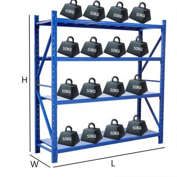 2000X600X2000mm Q235 Steel Decking Warehouse Storage Rack Shelf