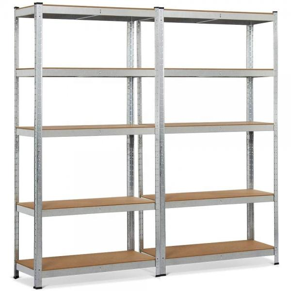 Hospitality Equipment 5 Tiers Stainless Steel Shelving Unit For Kitchen