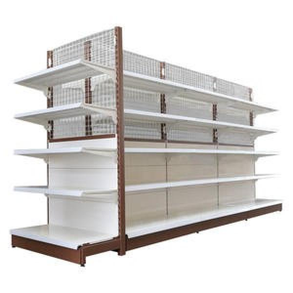 modern commercial retail store shelving lighted shelving gondola shelving