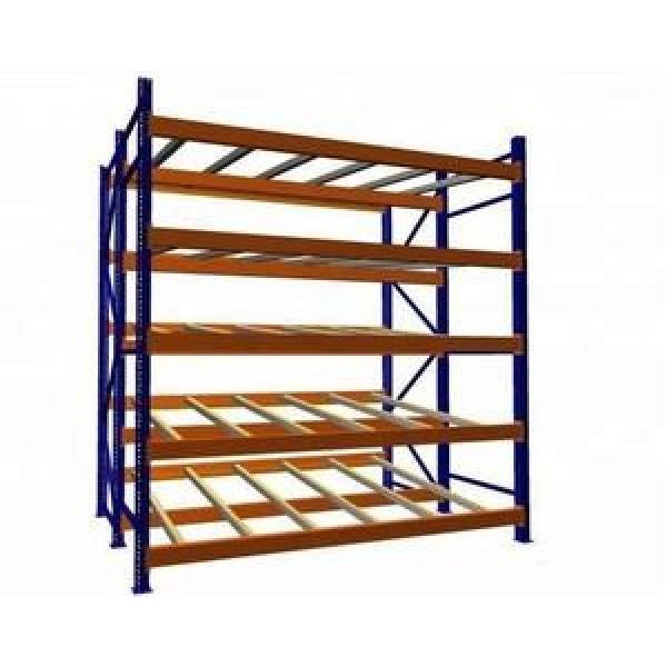 Selective warehouse atorage gravity roller rack
