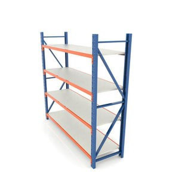 Iron Storage Rack Fireproof Surface with Adjustable Shelf Layer and Free Transformation for Warehouse/Home/Supermarket