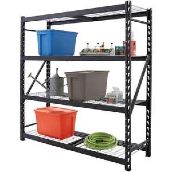Light duty shelving metal shelf rack for garage storage